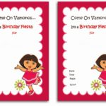 Dora The Explorer Invitation Sample 150x150
