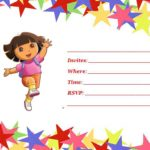 Free Printable Dora The Explorer Invitation 150x150
