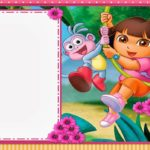 Free Printable Dora The Explorer Invitation Template 150x150