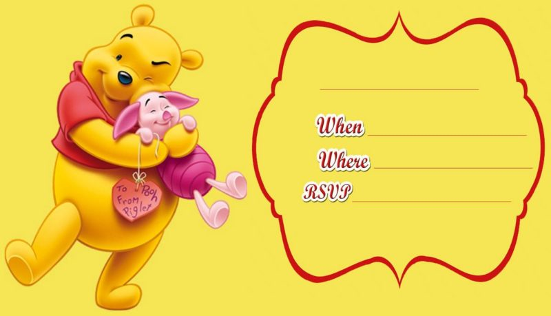Choosing a winnie the pooh baby shower invitation free invitation free winnie the pooh invitation card filmwisefo