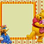 Winnie The Pooh Birthday Invitation 150x150