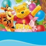 Winnie The Pooh Invitation 150x150