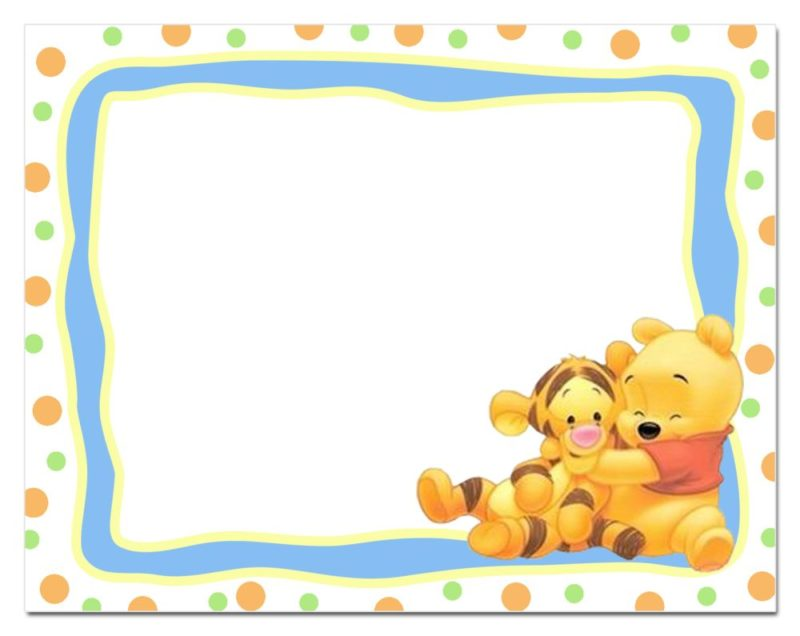 Winnie The Pooh Printable Invitation Template