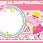 Adorable Peppa Pig Free Template 150x150