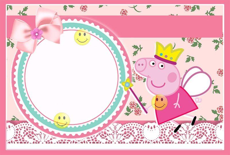 Peppa Pig Invitations Make People Smile Free Invitation Templates