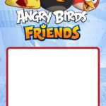 Angry Birds Birthday Invitation Template 150x150
