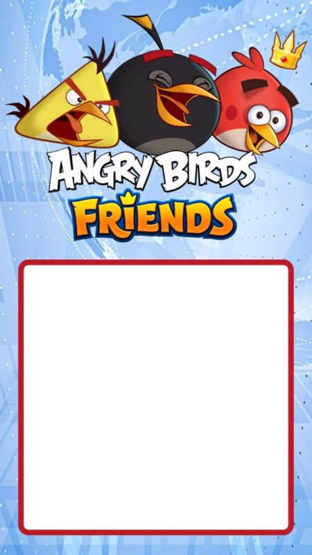 Angry Birds Birthday Invitation Template