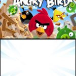 Angry Birds Initation Card 150x150