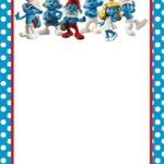 Birthday Smurf Invitation 150x150