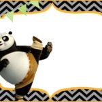 Cute Kung Fu Panda Free Printable Template 150x150