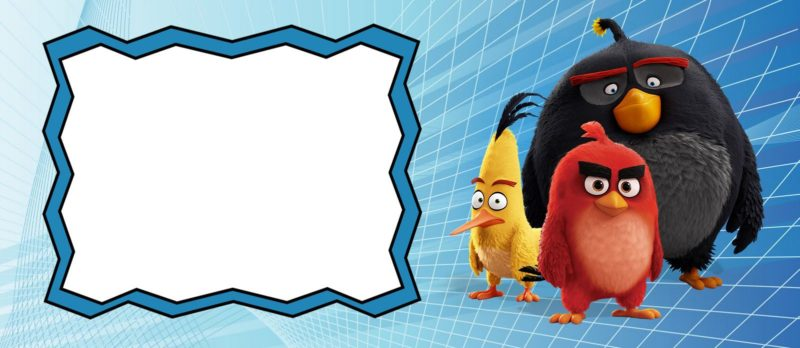 Free Angry Birds Invitation Template