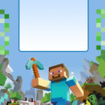 Free Minecraft Invitation Template 150x150