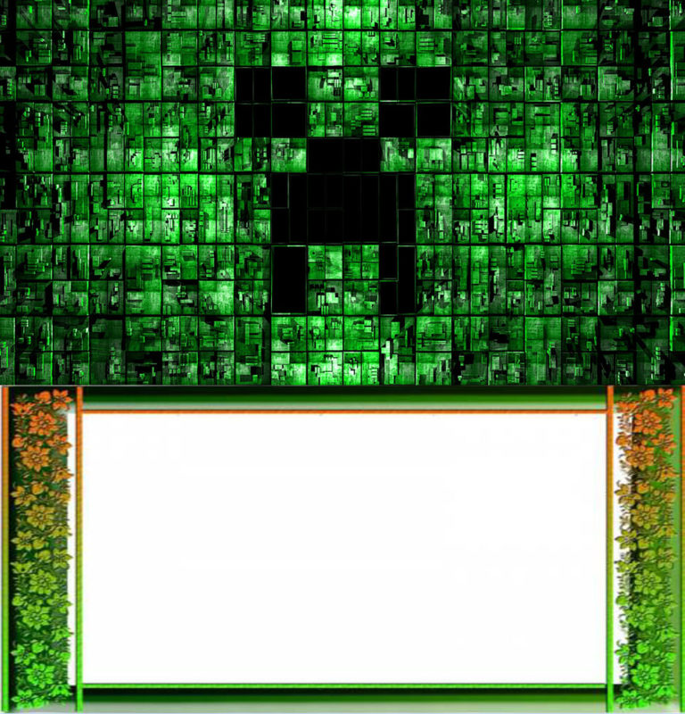 Free Online Minecraft Invitation Template