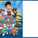 Free Paw Patrol Invitation Template 150x150