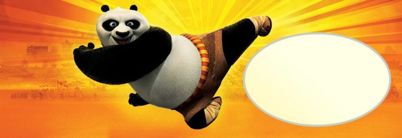 Free Printable Kung Fu Panda Invitation Card