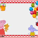 Free Printable Peppa Pig Party Invitation 150x150
