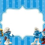 Free Printable Smurf Invitation 150x150
