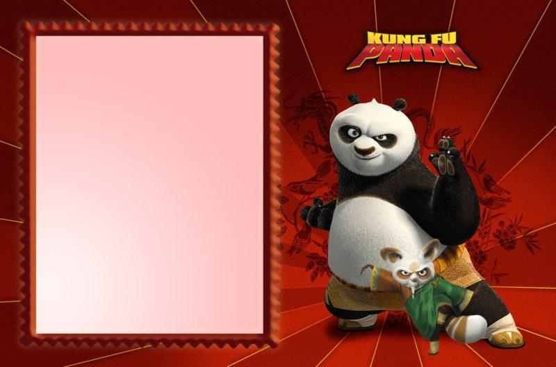 Kung Fu Panda Invite