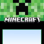 Minecraft Birthday Invitation Free 150x150