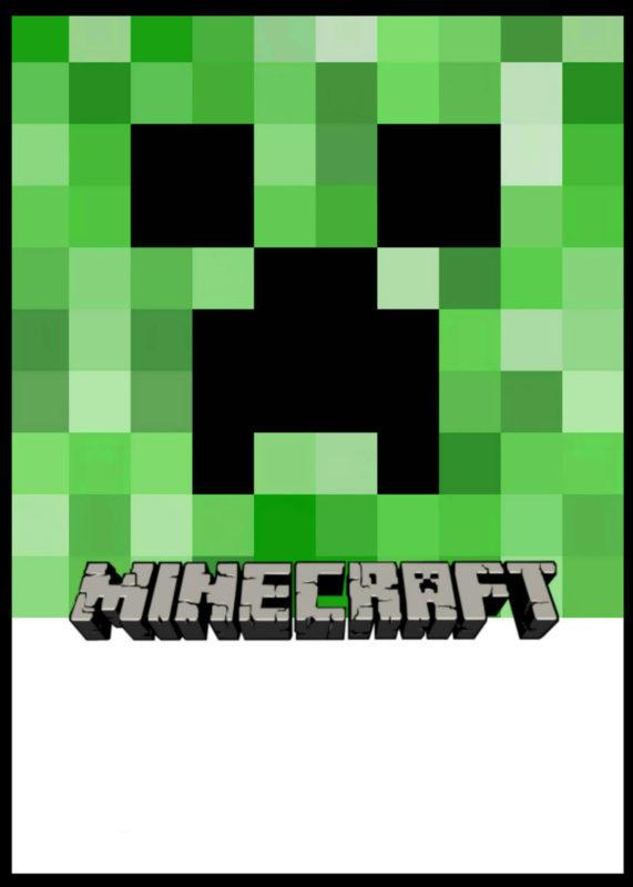 Minecraft Free Template
