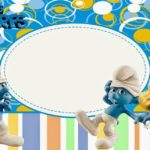 Party Smurf Invitation 150x150