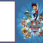 Paw Patrol Free Invitation Template 150x150