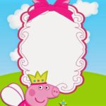 Peppa Pig Birthday Party Invitation 150x150