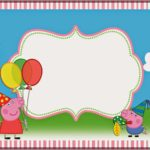 Peppa Pig Invitation Template Free 150x150