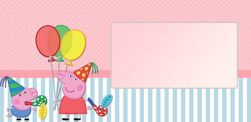 Peppa Pig Invitations
