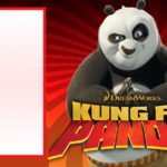 Printable Kung Fu Panda Invitation 150x150
