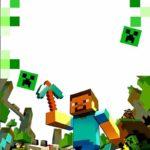 Printable Minecraft Template