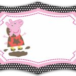 Printable Peppa Pig Invitation Card 150x150
