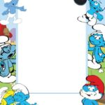 Printable Smurfs Invitation 150x150