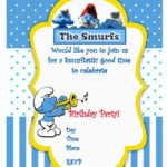 Smurfs Birthday Party Invitation 150x150