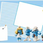 Smurfs Birthday Party Invitation Template 150x150