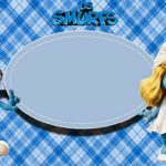 Smurfs Party Invitation Template 150x150