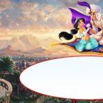 Aladdin Birthday Invitations Card