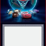 Cars 2 Free Invitation Template 150x150