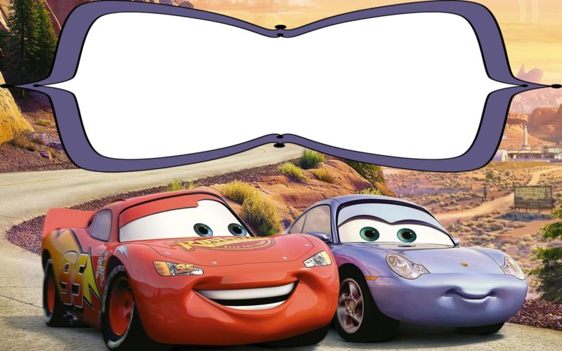 Cars 3 Invitation