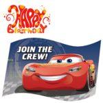 Cars Birthday Party Invitation 150x150