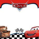 Cars Invitation Template