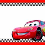 Cars Lightning McQueen Printable Template 150x150