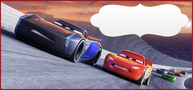 Free Printable Cars 3 Invitation