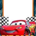 Lightning McQueen Invitation Template Free 150x150