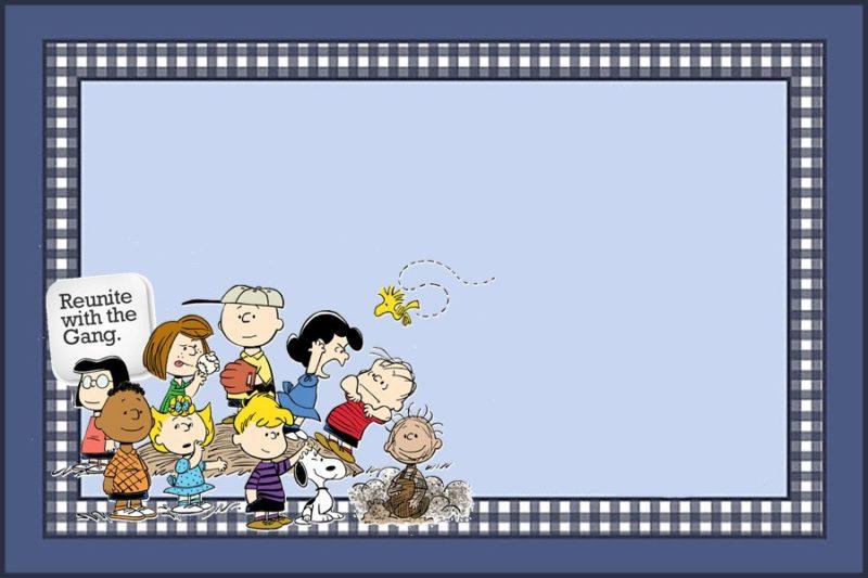Peanuts Movie Invitation Template  Movie Invitation Template Free