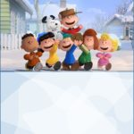 Peanuts Movie Invitations 150x150