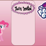 Free My Little Pony Invitation Card 150x150