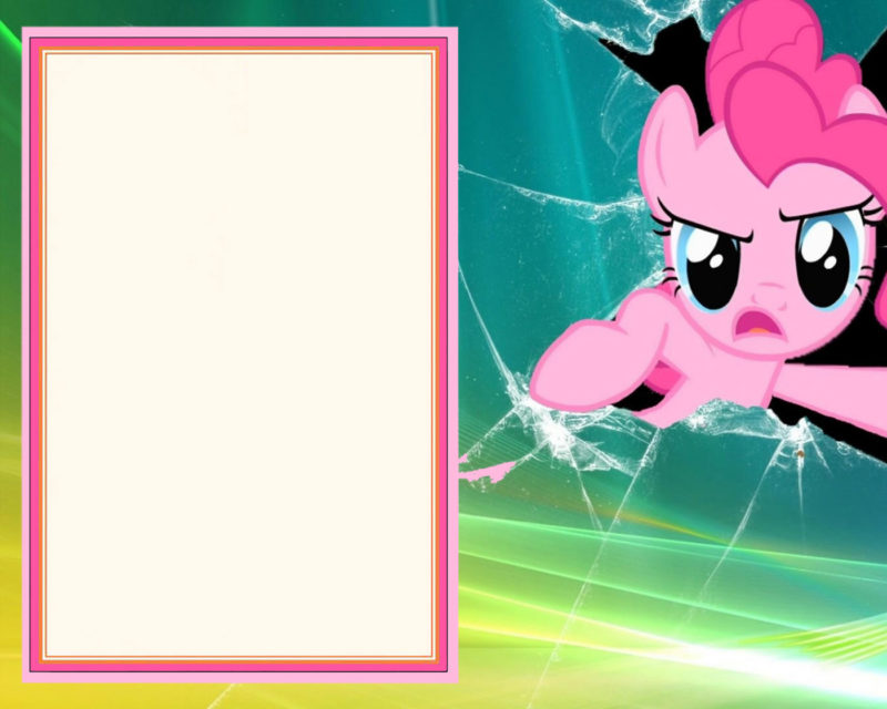 Free My Little Pony Invitation