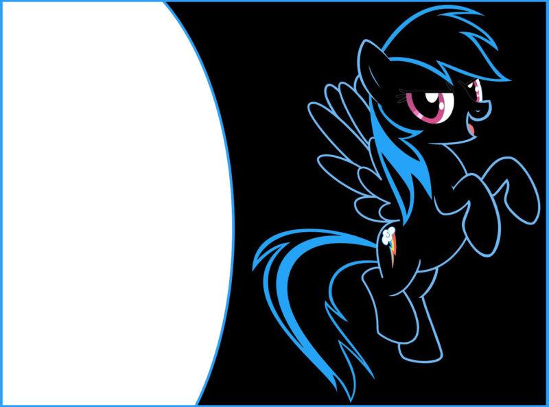 Free Printable My Little Pony Birthday Invitation - Free ...