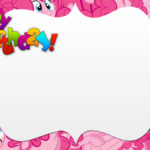 My Little Pony Invitation Template 150x150